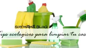 Tips ecologicos para limpiar tu casa