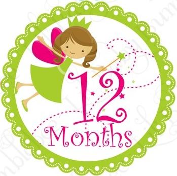 Felices 12 meses feliz primer a o maia soy mama blog - Feliz cumpleanos bebe 1 ano ...