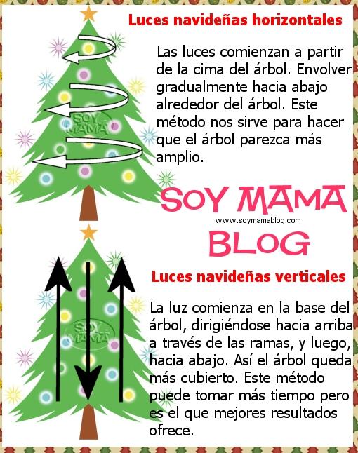 Como poner las luces del rbol navide o soy mama blog - Como poner el arbol de navidad ...
