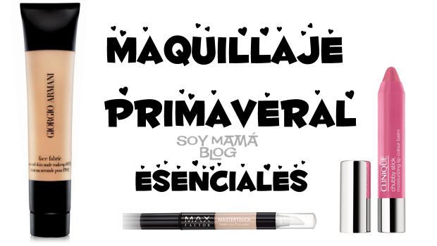 maquillaje primaveral esenciales 2013