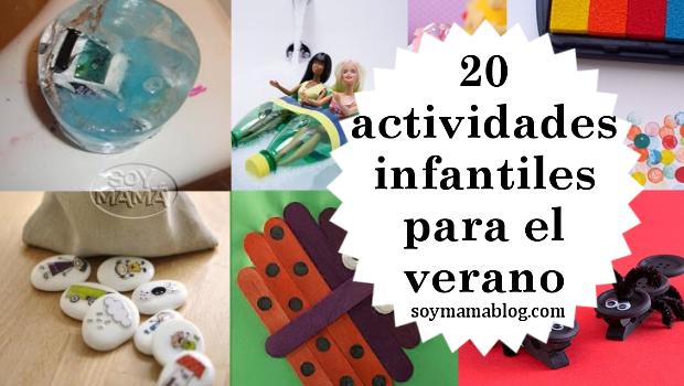 20 actividades infantiles para las vacaciones de verano