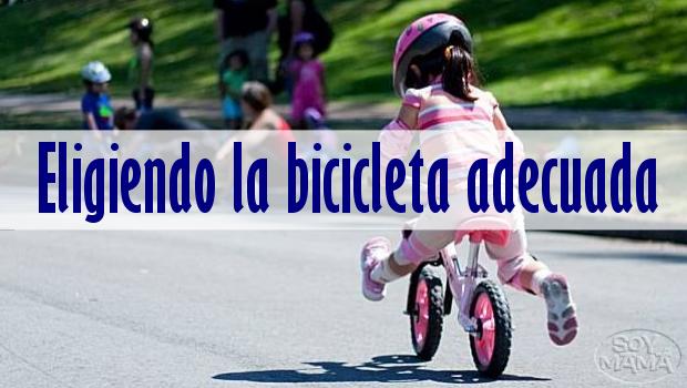 Eligiendo la bicicleta adecuada para tus peques