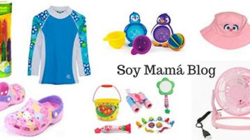 Esenciales infantiles para el verano en Soy Mama Blog