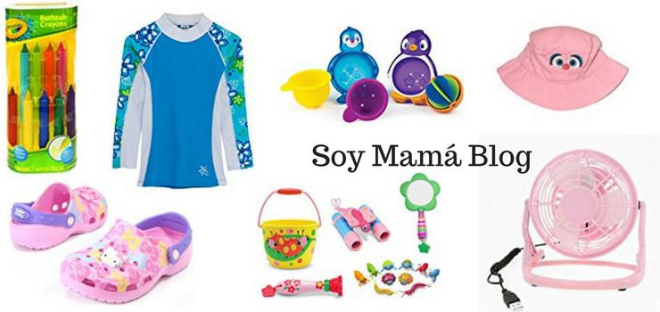 Esenciales infantiles para el verano Soy Mamá Blog