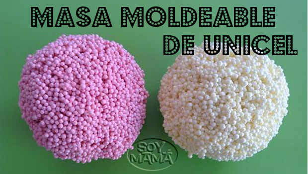 Masa Moldeable de Unicel