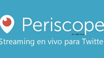 Periscope streaming en vivo para Twitter