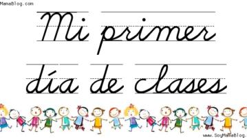 Mi primer día de clases | Soy Mamá Blog