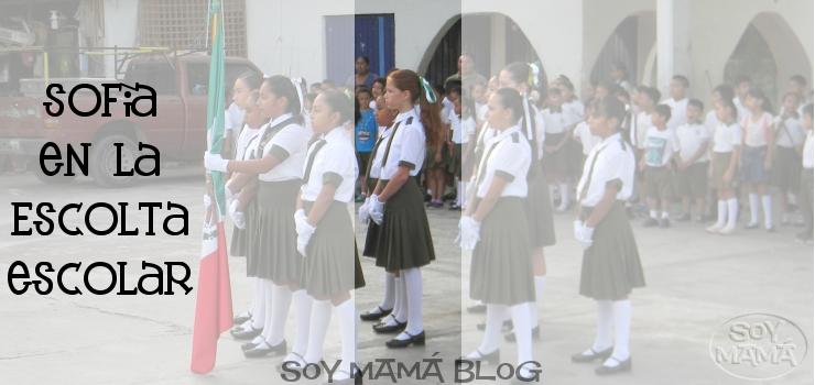 Sofia en la Escolta escolar