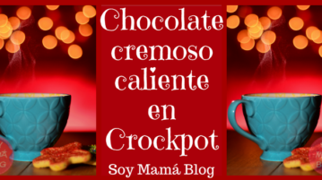 chocolate cremoso caliente en crockpot