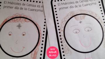Imprimible para aprender sobre el Miercoles de Ceniza | Soy Mama Blog