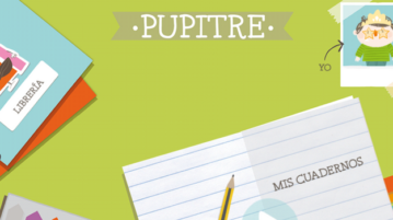 "App educativa ""Pupitre"" de Santillana"