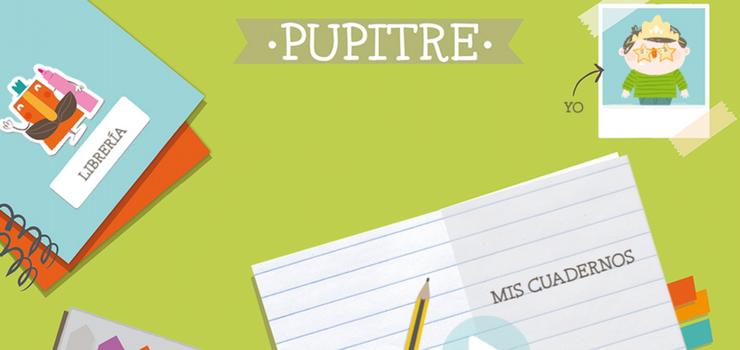 """App educativa """"Pupitre"""" de Santillana"""