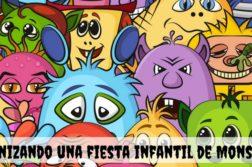 Organizando una fiesta infantil de Monstruos