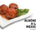 Albóndigas a la mexicana
