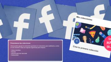 Facebook permite organizar los elementos guardados